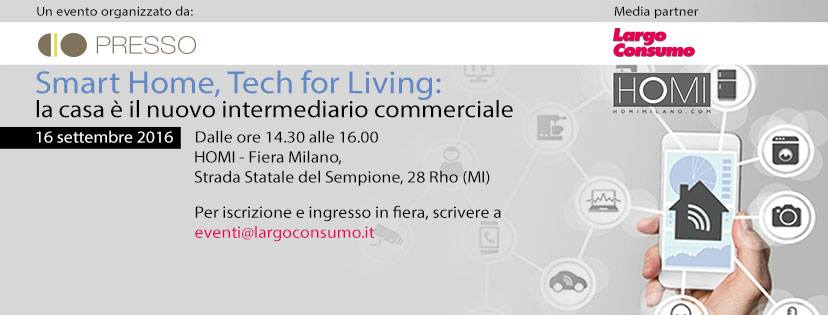 Presso a HOMI: Smart Home, Tech for Living